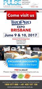 Tropro Expo Brisbane
